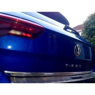 VW Volkswagen T-ROC - CHROME Rear Strip Trunk Tuning Lid 3M Boot