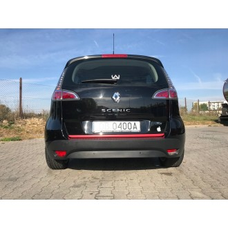Renault SCENIC IV - RED Rear Strip Trunk Tuning Lid 3M Boot