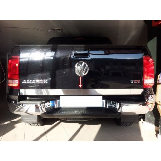 VW AMAROK - CHROME Rear Strip Trunk Tuning Lid 3M Boot