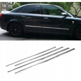 AUDI A4 B6 - Chrome side door trim