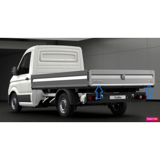 Volkswagen CRAFTER - CHROME Rear Strip Trunk Tuning Lid...