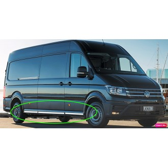 VW CRAFTER II 2018+ - Chrome side door trim