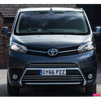 Toyota PROACE - Chrome Grille Kit 3M Tuning
