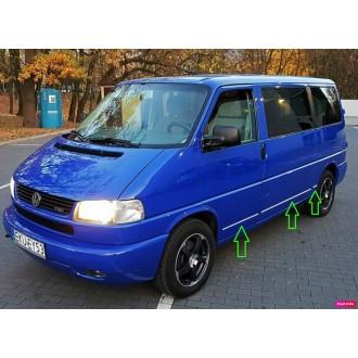 VW Transporter T4 - Chrom Zierleisten Türleisten