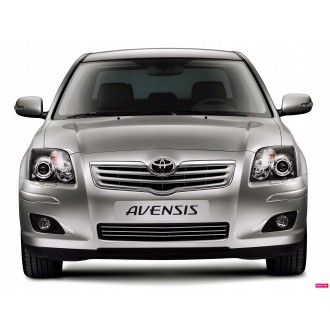 Toyota AVENSIS T25 - Chrome Grille Kit 3M Tuning