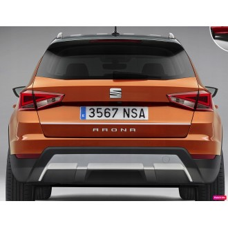 Seat ARONA - CHROME Rear Strip Trunk Tuning Lid 3M Boot