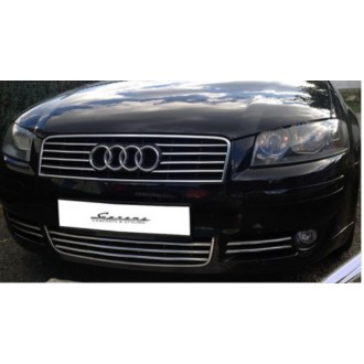 AUDI A3 8P - Chrome Grille Kit 3M Tuning