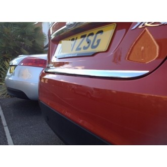 Citroen C4 Coupe - CHROME Rear Strip Trunk Tuning Lid 3M Boot