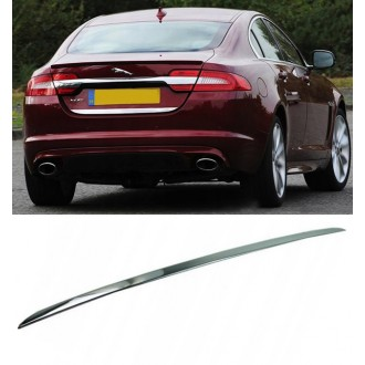 JAGUAR XF II - CHROME Rear Strip Trunk Tuning Lid 3M Boot