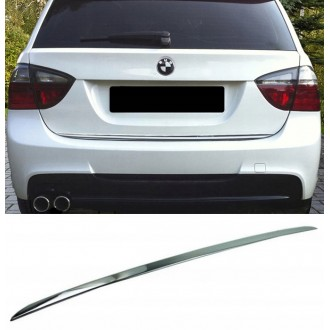 BMW 3 E91 Kombi - CHROME Rear Strip Trunk Tuning Lid 3M Boot