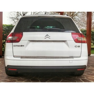 Citroen C5 III Kombi - CHROME Rear Strip Trunk Tuning Lid 3M Boot