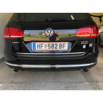 VW Passat B7 Kombi - CHROME Rear Strip Trunk Tuning Lid 3M Boot
