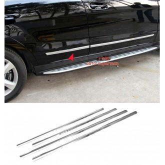 Skoda OCTAVIA II - Chrome side door trim
