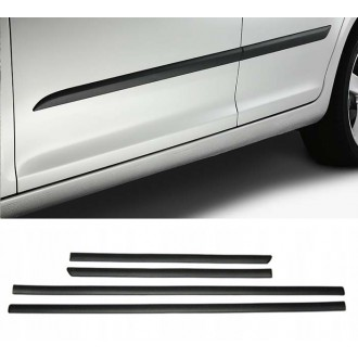 Hyundai Santa Fe III - Schwarz Zierleisten Türleisten