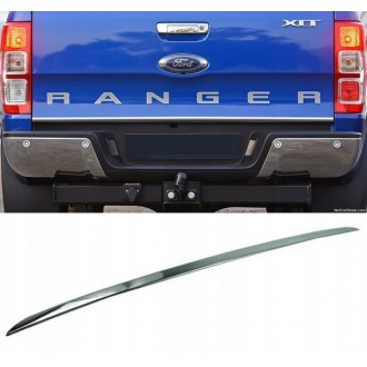 Ford RANGER - CHROME Rear Strip Trunk Tuning Lid 3M Boot