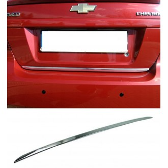 Fiat Multipla - CHROME Rear Strip Trunk Tuning Lid 3M Boot