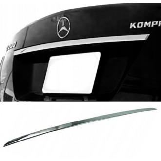 Mercedes W204 Sedan - Chrom-Zierleiste Heckleiste 3M Tuning Chromleiste Heckklappe