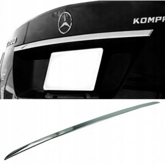 Mercedes S204 Kombi - CHROME Rear Strip Trunk Tuning Lid 3M Boot