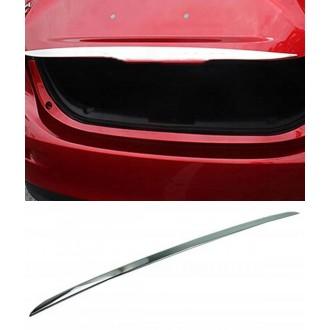 Mazda 3 II Sedan - Chrom-Zierleiste Heckleiste 3M Tuning Chromleiste Heckklappe