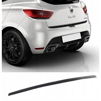 Renault Clio IV 4 HB - BLACK Rear Strip Trunk Tuning Lid 3M Boot