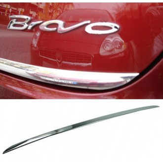 FIAT BRAVO 2 - CHROME Rear Strip Trunk Tuning Lid 3M Boot