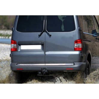 VW Transporter T6 - CHROME Rear Strip Trunk Tuning Lid 3M Boot