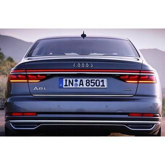 Audi A8 2017 - Chrom-Zierleiste Heckleiste 3M Tuning Chromleiste Heckklappe