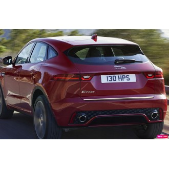 Jaguar E-Pace - CHROME Rear Strip Trunk Tuning Lid 3M Boot