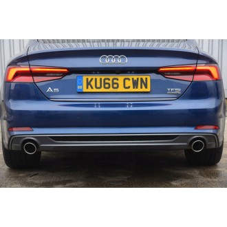 Audi A5 Coupe - CHROME Rear Strip Trunk Tuning Lid 3M Boot