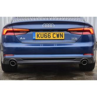 Audi A5 Sportback - Chrom-Zierleiste Heckleiste 3M Tuning Chromleiste Heckklappe