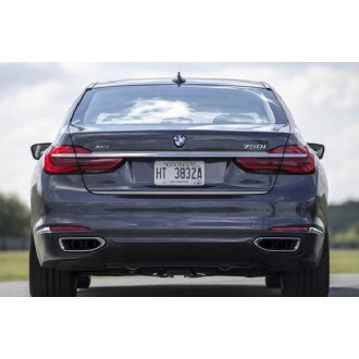 BMW 7 G11, G12 - CHROME Rear Strip Trunk Tuning Lid 3M Boot