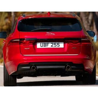 Jaguar XF Sportbrake - Chrom-Zierleiste Heckleiste 3M Tuning Chromleiste Heckklappe
