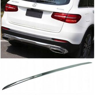 Mercedes GLC Coupe - CHROME Rear Strip Trunk Tuning Lid 3M Boot