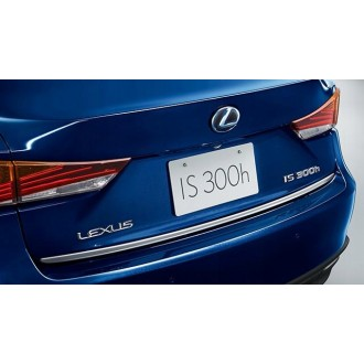 LEXUS IS III 2013 - CHROME Rear Strip Trunk Tuning Lid 3M Boot