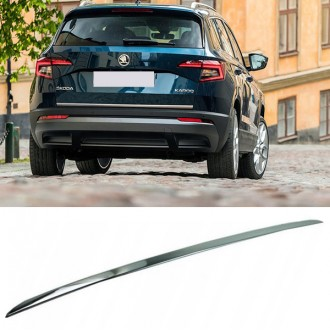 Skoda KAROQ - CHROME Rear Strip Trunk Tuning Lid 3M Boot