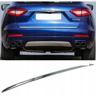 Maserati LEVANTE - Chrom-Zierleiste Heckleiste 3M Tuning Chromleiste Heckklappe