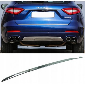 Maserati LEVANTE - CHROME Rear Strip Trunk Tuning Lid 3M Boot