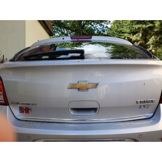 Chevrolet CRUZE Hatchback - CHROME Rear Strip Trunk Tuning Lid 3M Boot