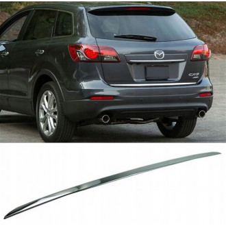 MAZDA CX-9 - CHROME Rear Strip Trunk Tuning Lid 3M Boot