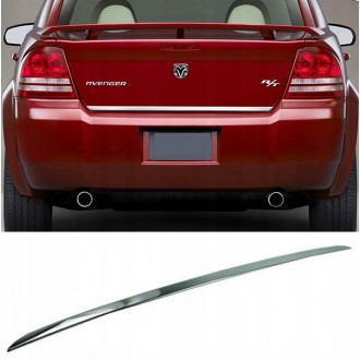 Dodge AVENGER - CHROME Rear Strip Trunk Tuning Lid 3M Boot