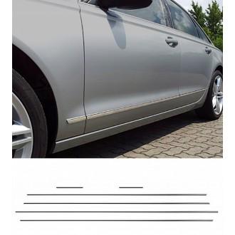 Audi A6 C7 - Chrom Zierleisten Türleisten