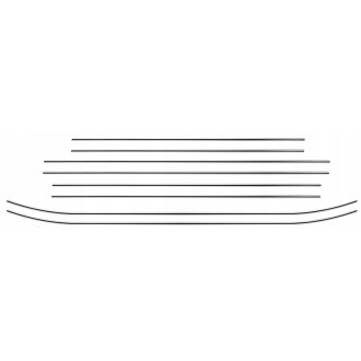 Audi A4 B5 Kombi - Chrome Zierleisten Türleisten