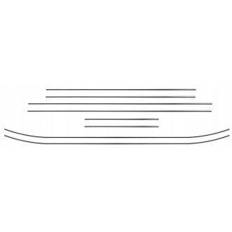 Audi A4 B5 Sedan - Chrome Zierleisten Türleisten