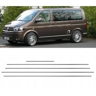 VW Transporter T5 - Chrom Zierleisten Türleisten