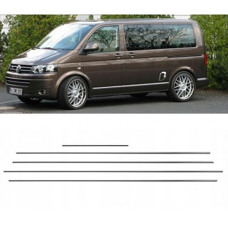 VW Transporter T5 - Chrome side door trim