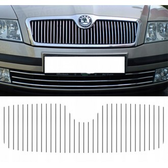 SKODA OCTAVIA - Chrome Grille Kit 3M Tuning