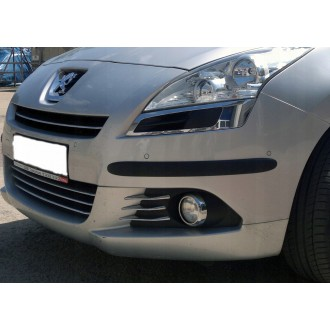 SKODA - Black side bumper trim