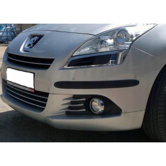 Peugeot - Schwarz Zierleisten Stoßstange