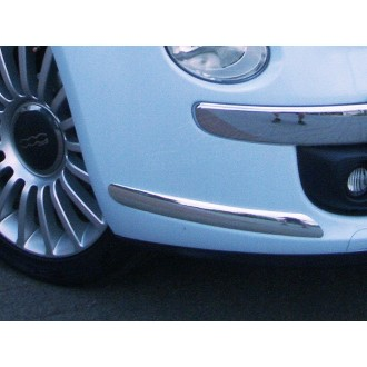 TESLA - Chrome side bumper trim