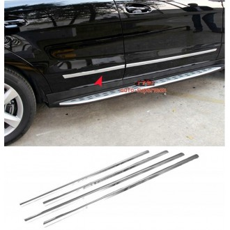 Mercedes W204 Coupe - Chrome side door trim